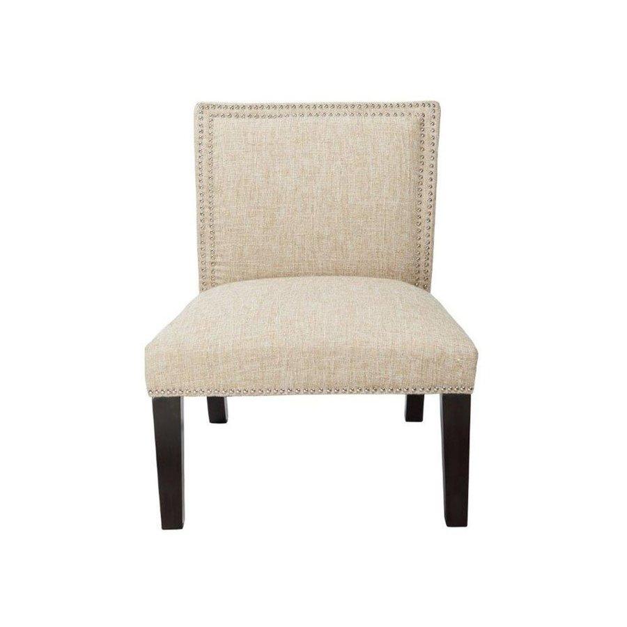 4D Concepts Burnett Casual Woven Sand Slipper Chair