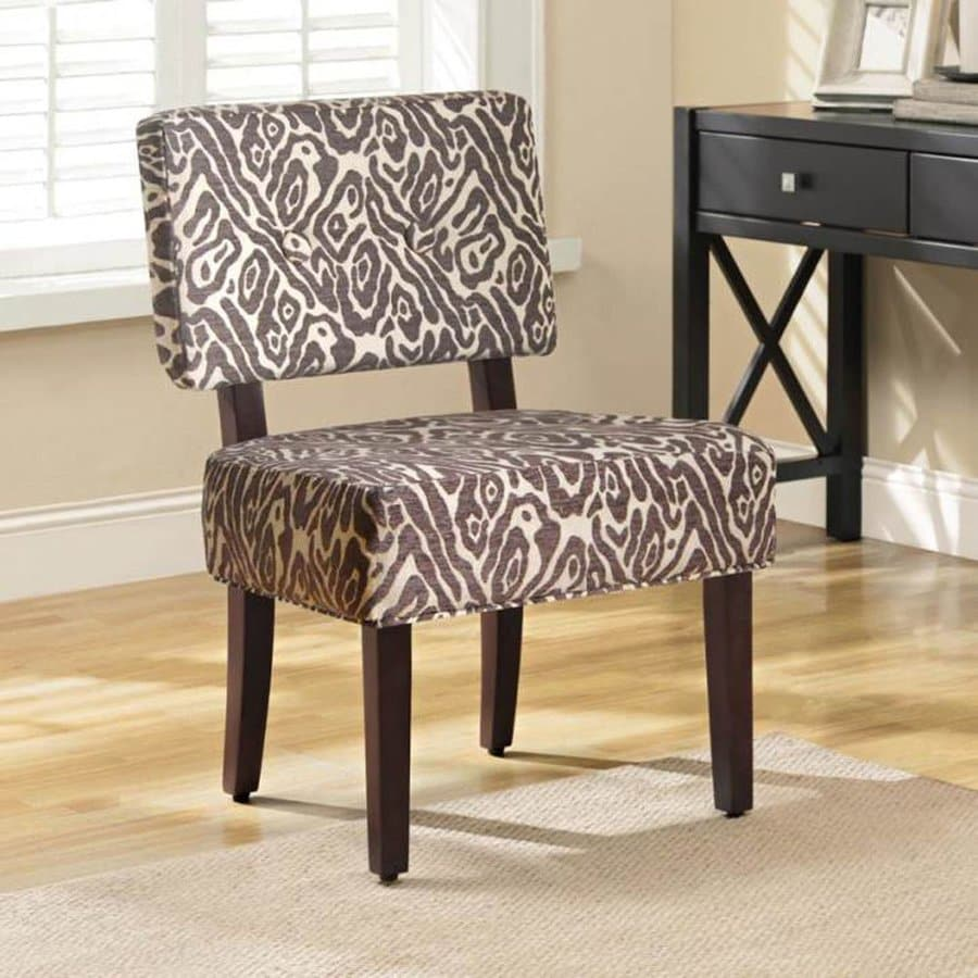 4D Concepts Sabrina Casual Animal Print Accent Chair