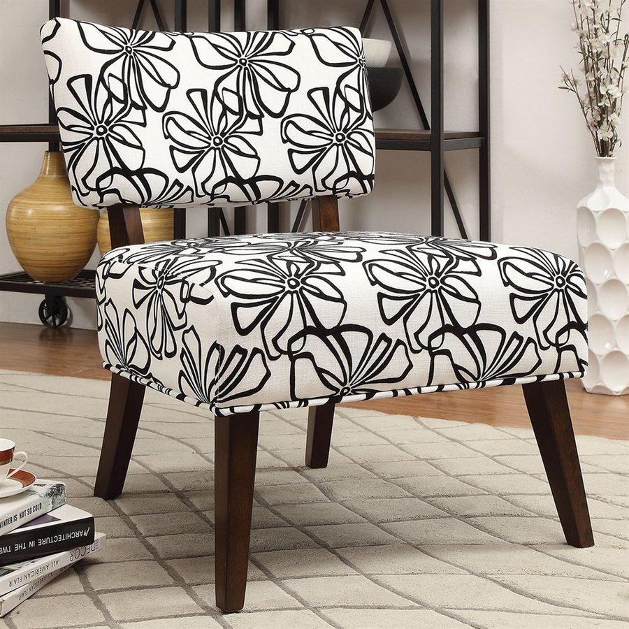 ACME Furniture Able Casual White/Espresso Accent Chair