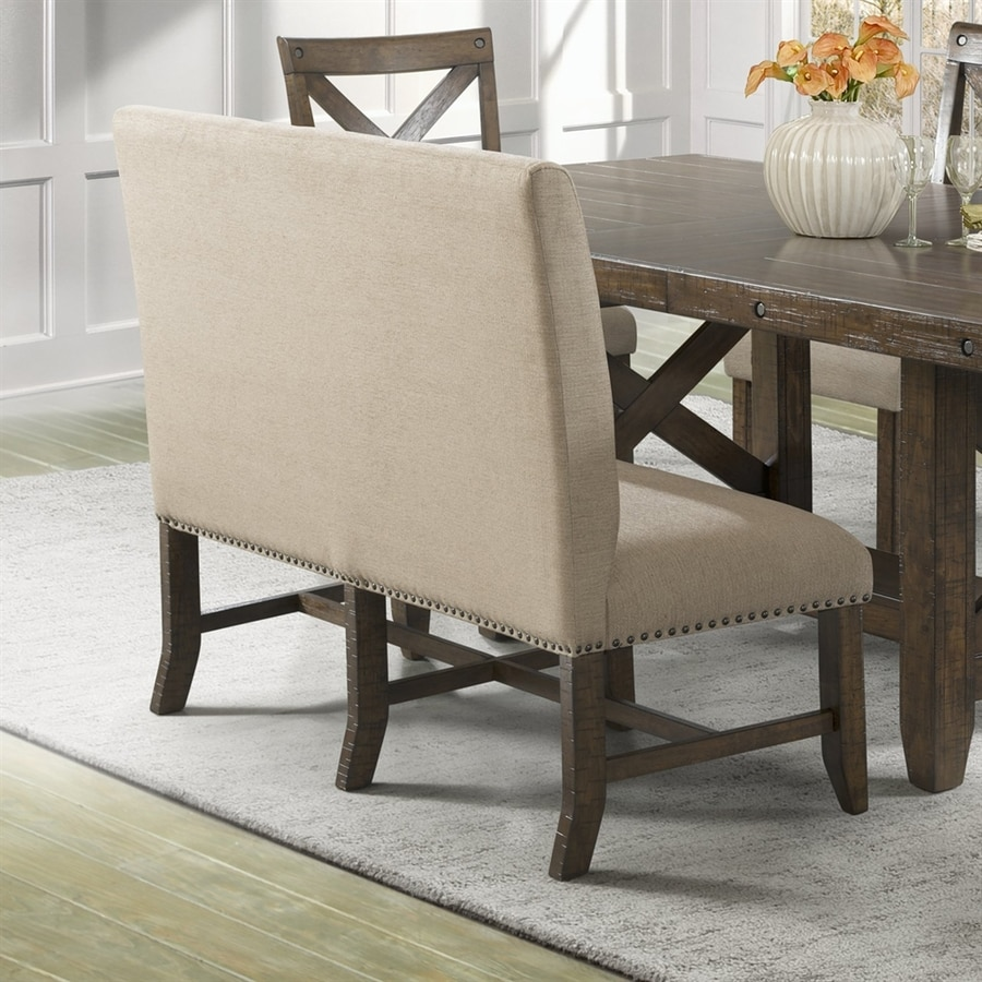 Picket House Furnishings Francis Natural Linen Dining Bench
