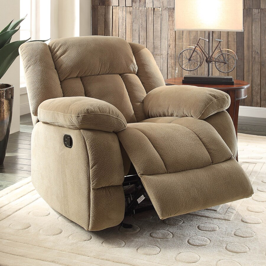 Homelegance Laurelton Taupe Synthetic Recliner