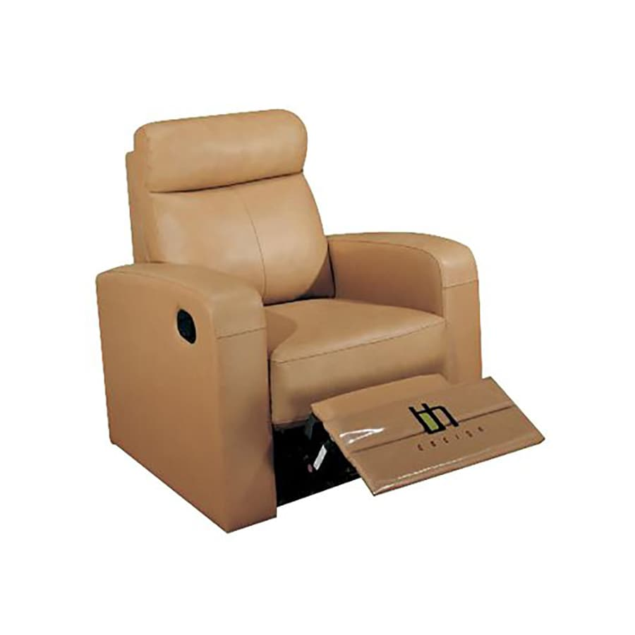 Beverly Hills Furniture Brown Faux Leather Recliner