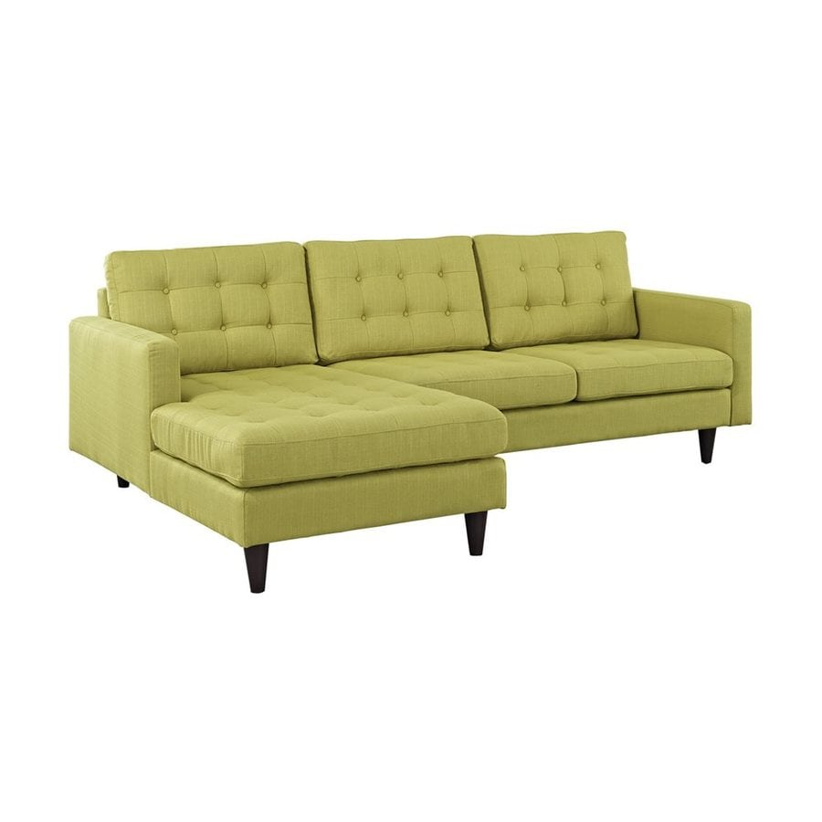 Modway Empress Midcentury Wheatgrass Sectional