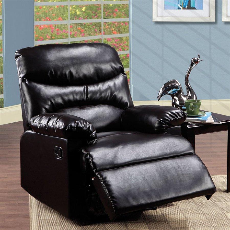 ACME Furniture Arcadia Espresso Faux Leather Recliner