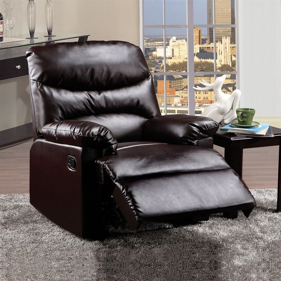 ACME Furniture Arcadia Brown Faux Leather Recliner
