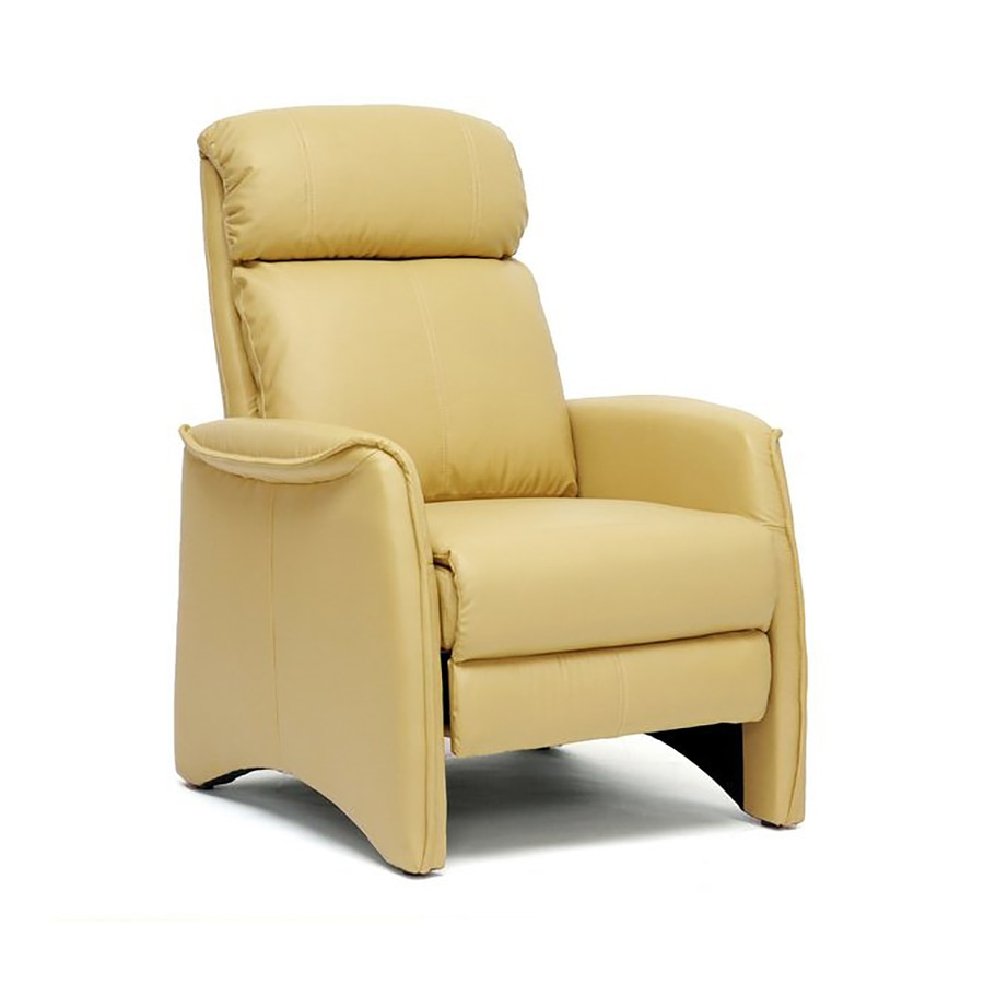 Baxton Studio Sequim Tan Faux Leather Recliner