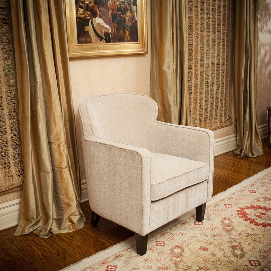 Best Selling Home Decor Lampman Casual Wheat Herringbone Club Chair