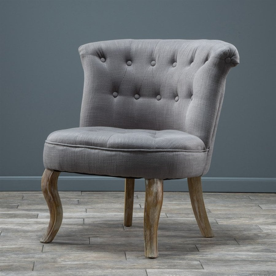 Best Selling Home Decor Bordeaux Casual Light Gray Club Chair