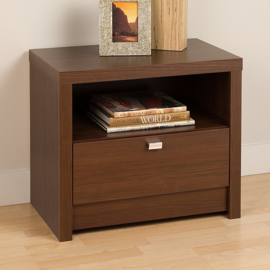 Prepac Furniture Series 9 Warm Cherry Nightstand