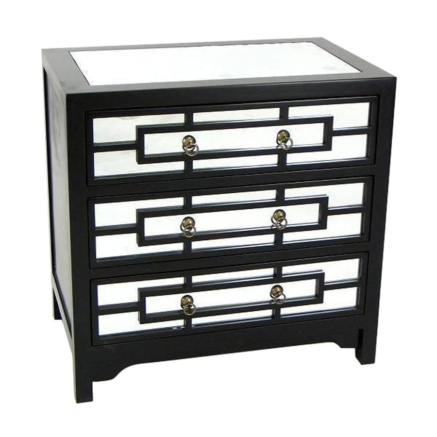 Wayborn Furniture Tanner Black Pine Nightstand