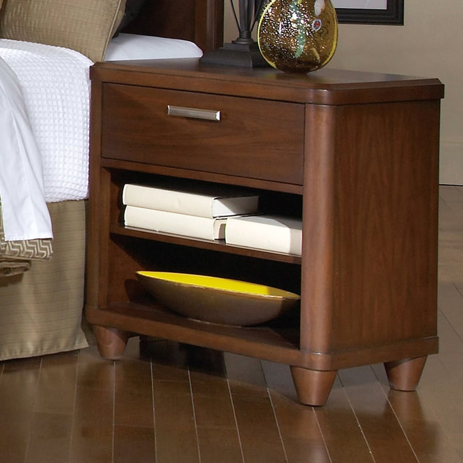 Homelegance Beaumont Cherry Asian Hardwood Nightstand