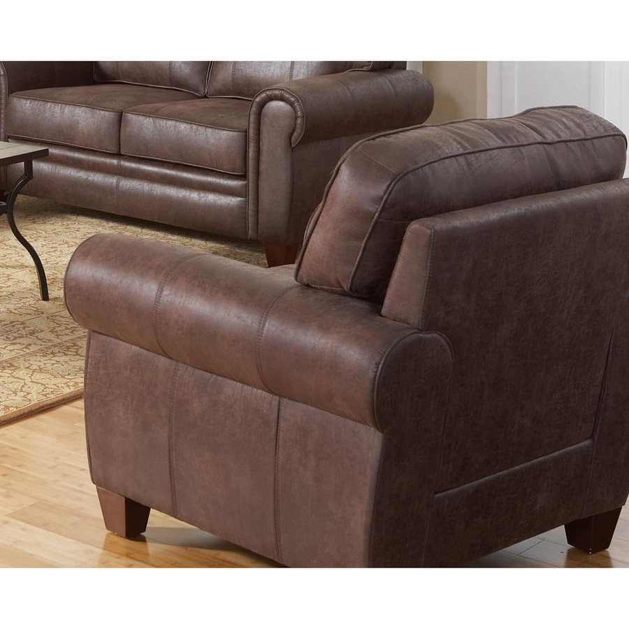 Coaster Fine Furniture Bentley Casual Brown Microfiber Club Chair