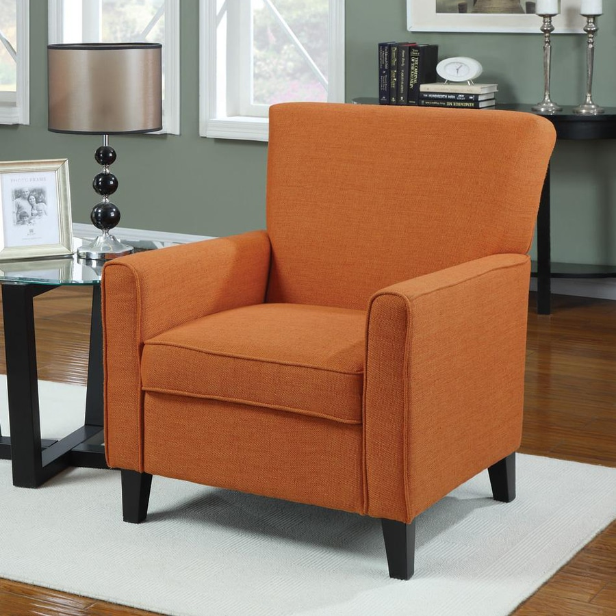 Coaster Fine Furniture Casual Vibrant Orange Club Chair