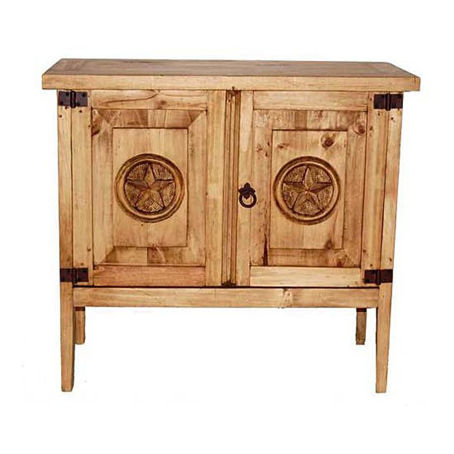 Million Dollar Rustic Rustic Pine Nightstand