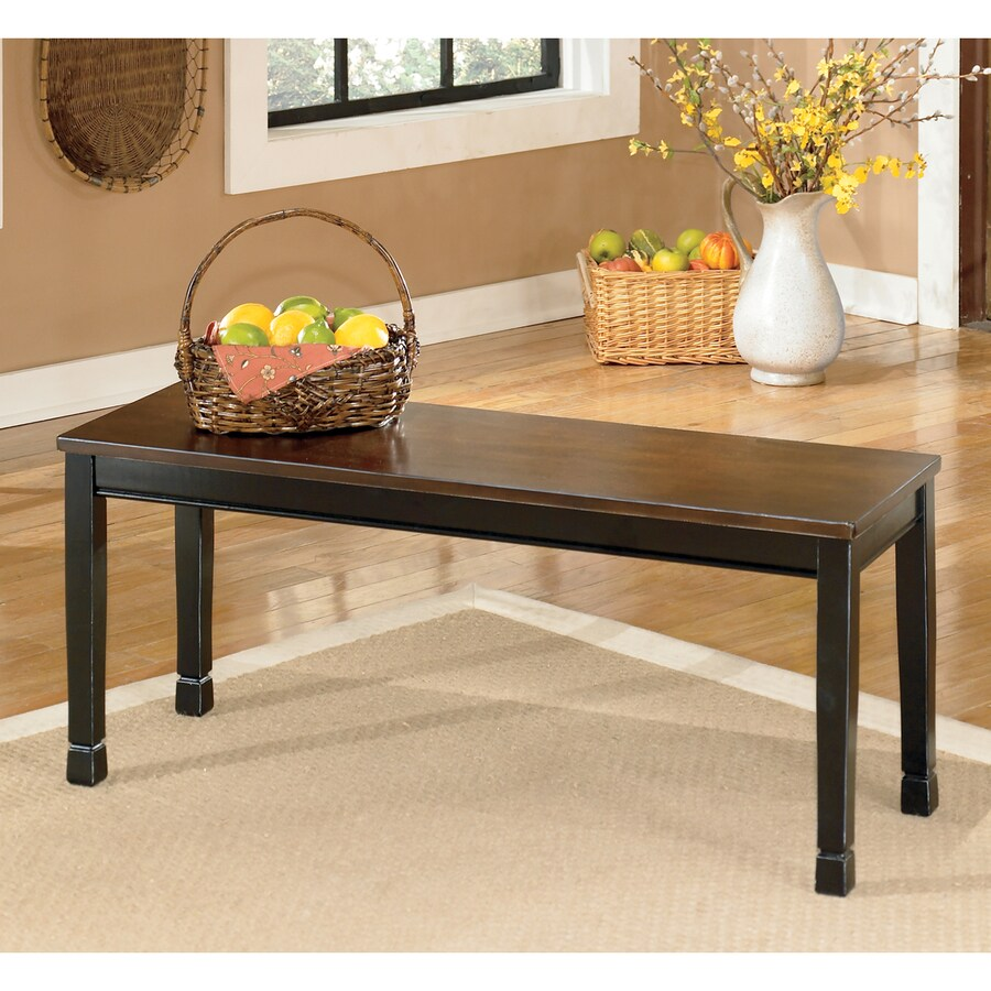 Signature Design by Ashley Owingsville Burnished Brown Dining Bench