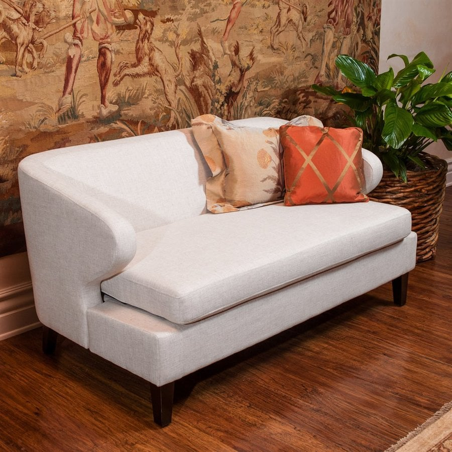 Best Selling Home Decor Eastfield Casual Light Beige Linen Loveseat
