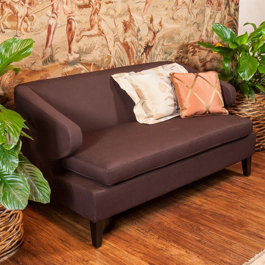 Best Selling Home Decor Eastfield Casual Chocolate Brown Loveseat