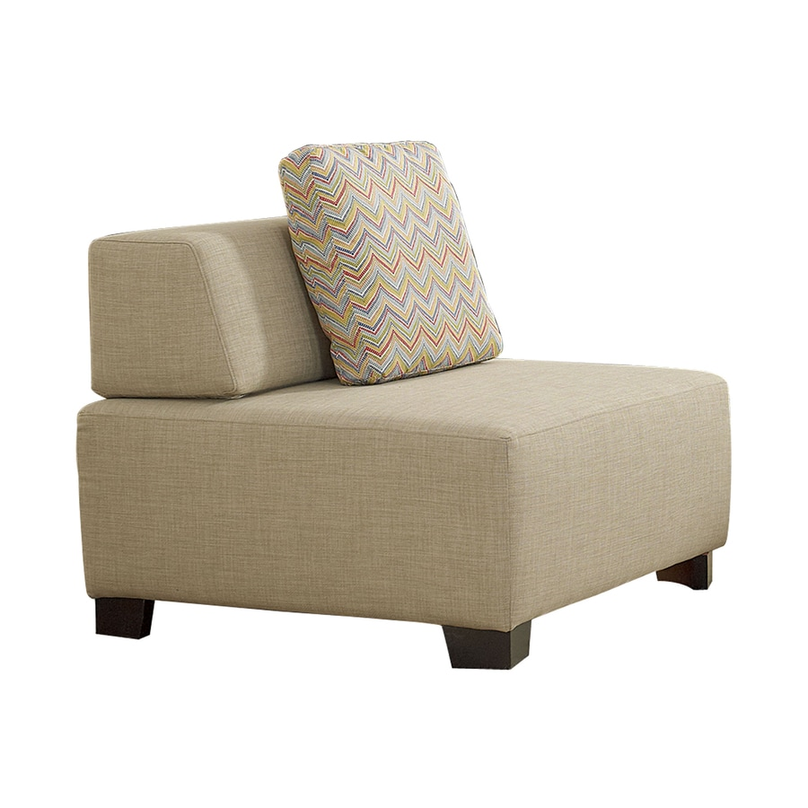 Homelegance Darby Modern Oatmeal Accent Chair