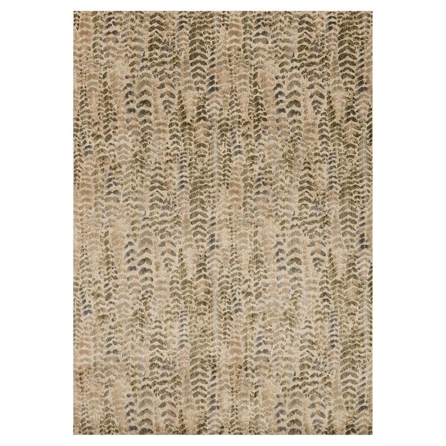 Loloi Dreamscape Sage/beige Rectangular Indoor Machine-made Area Rug (Common: 4 X 6; Actual: 3.9-ft W x 5.75-ft L)