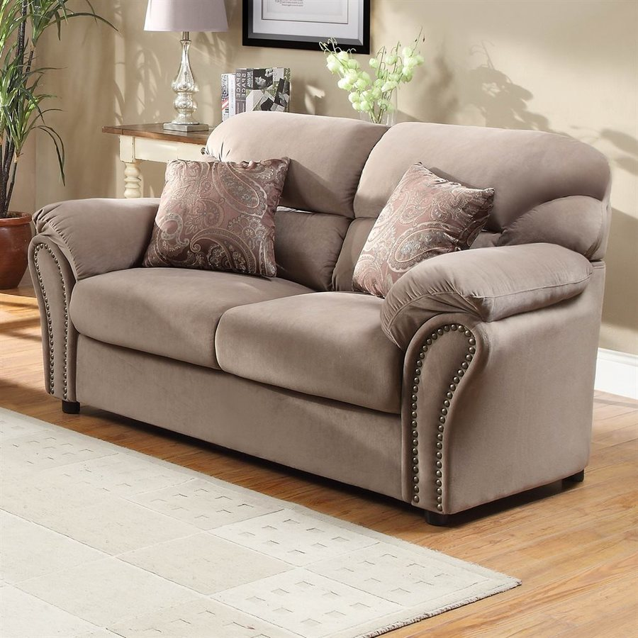 Homelegance Valentina Casual Brown Loveseat