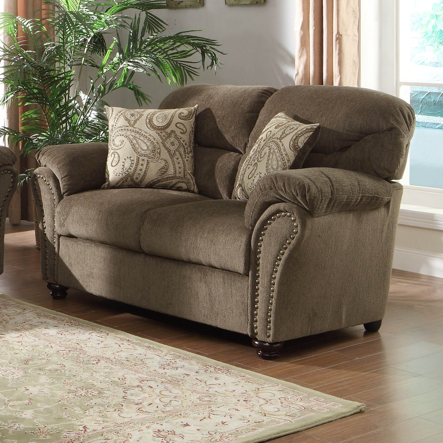 Homelegance Valentina Casual Neutral Chenille Loveseat