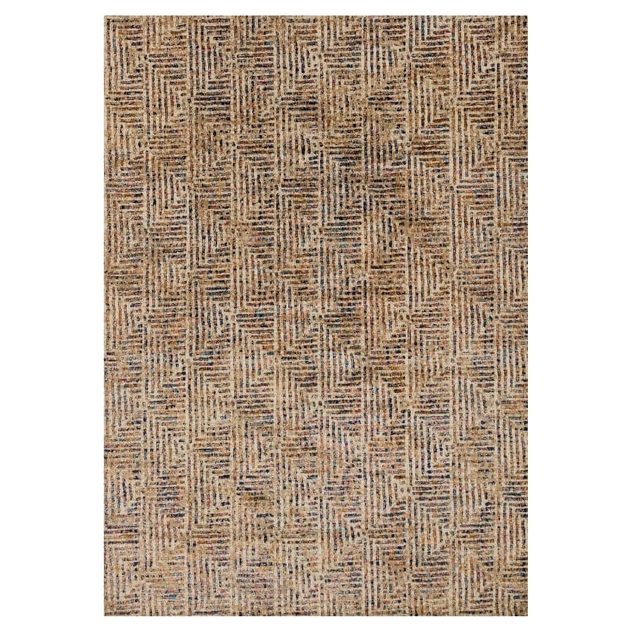 Loloi Dreamscape Ivory/multicolor Rectangular Indoor Machine-made Area Rug (Common: 6 X 9; Actual: 6.58-ft W x 9.17-ft L)