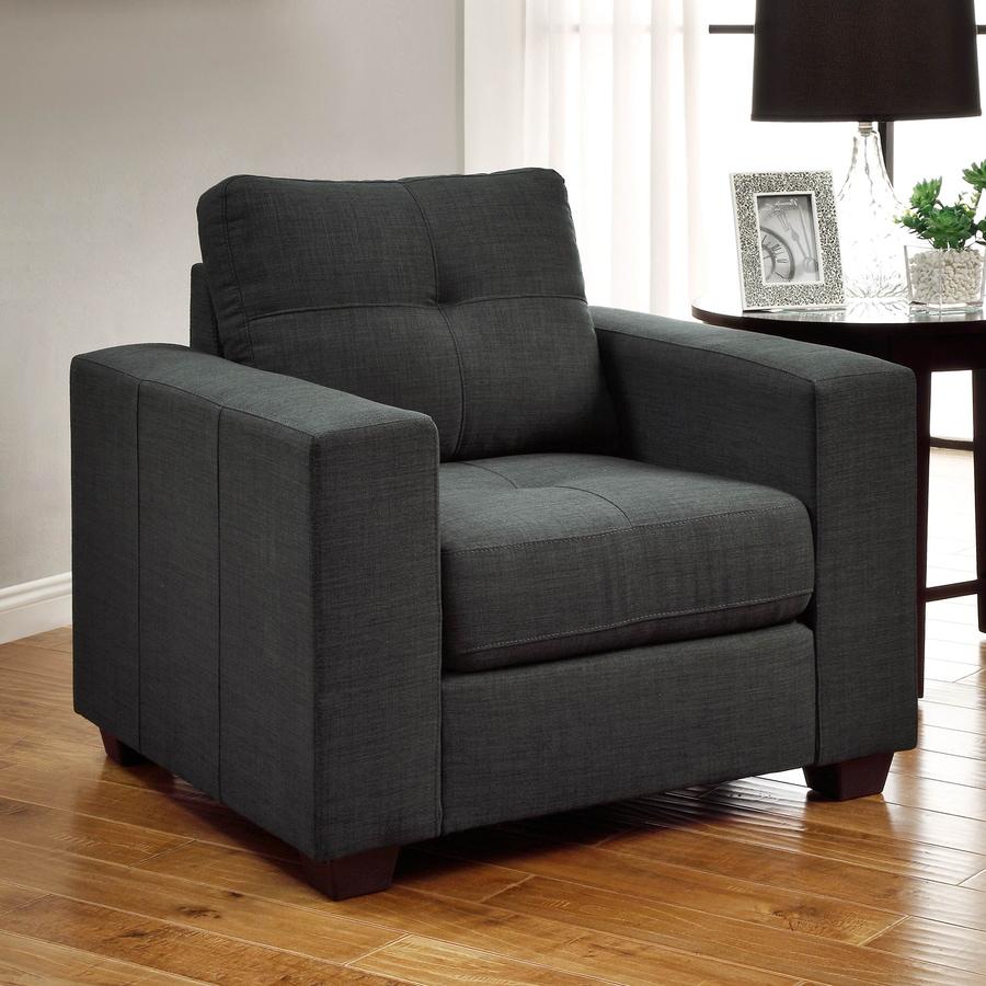 Homelegance Ashmont Casual Dark Gray Club Chair