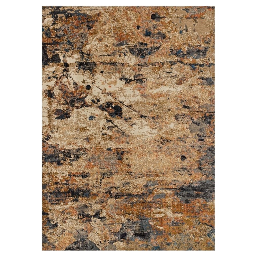 Loloi Dreamscape Eclipse Rectangular Indoor Machine-made Area Rug (Common: 4 X 6; Actual: 3.9-ft W x 5.75-ft L)