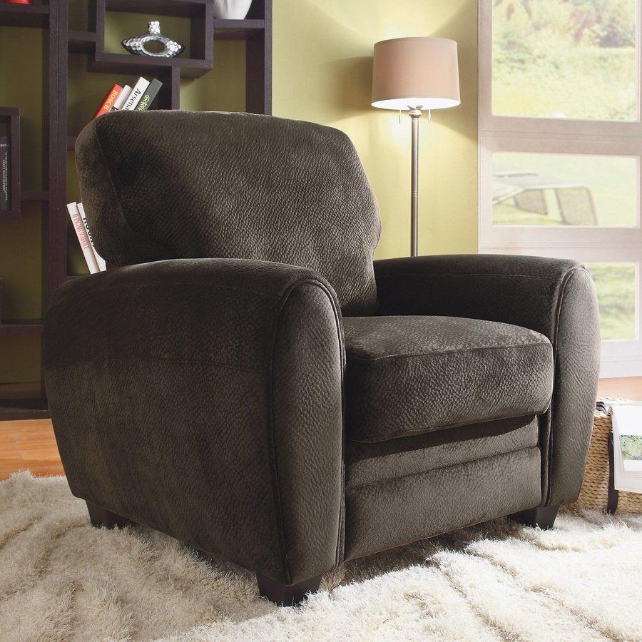 Homelegance Rubin Casual Chocolate Microfiber Club Chair