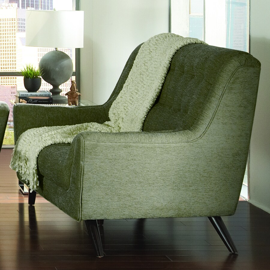 Coaster Fine Furniture Natalia Midcentury Grey Chenille Loveseat