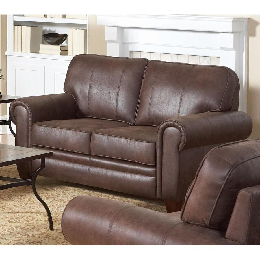 Coaster Fine Furniture Bentley Casual Brown Loveseat
