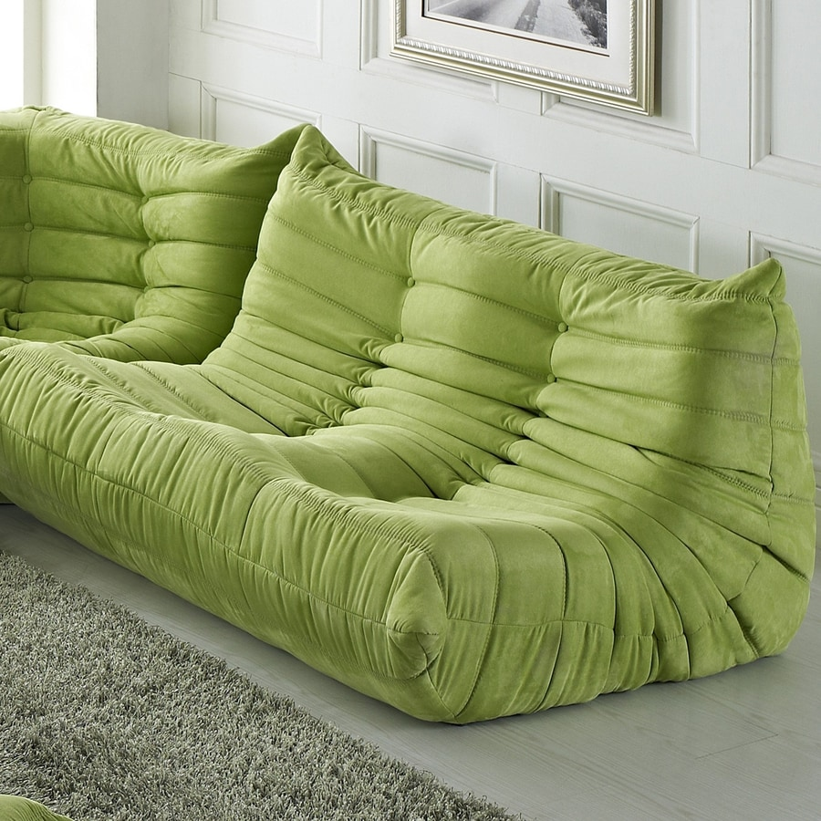 Modway Waverunner Casual Green Loveseat