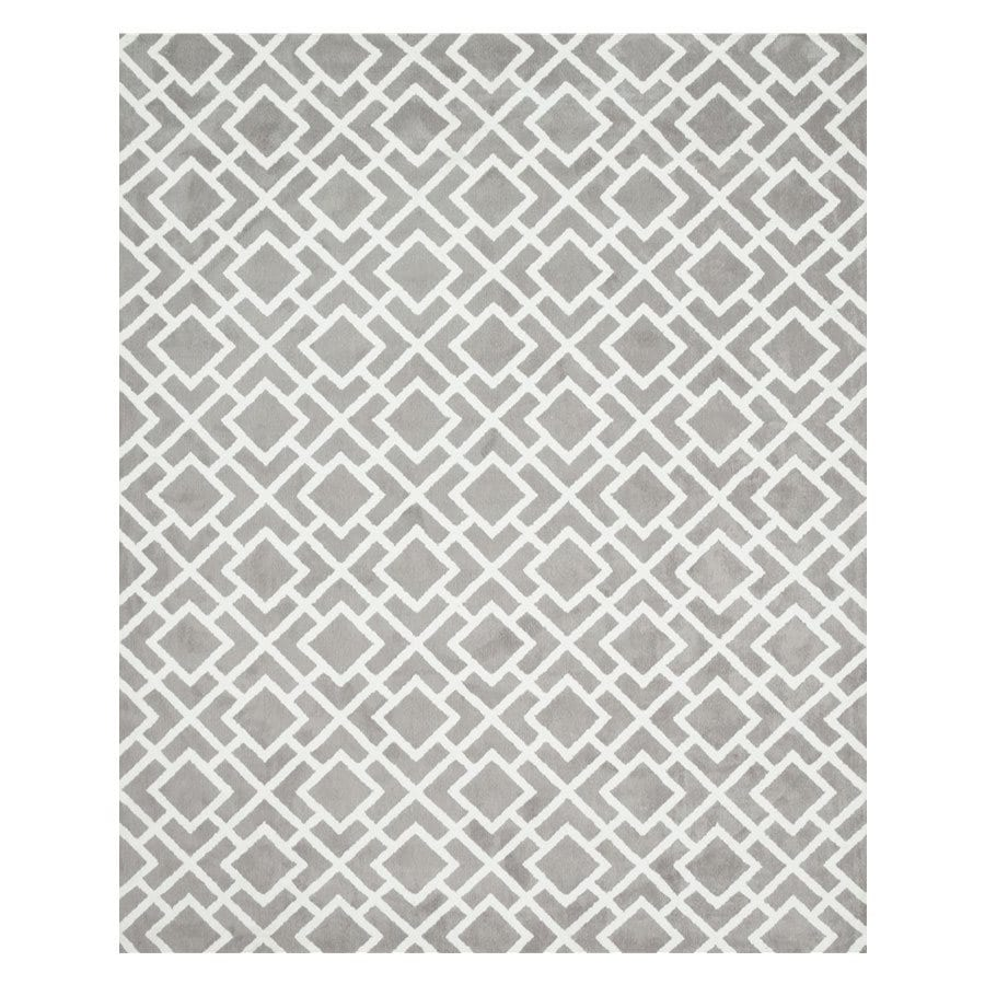 Loloi Charlotte Ash Rectangular Indoor Machine-made Area Rug (Common: 3 X 5; Actual: 3.5-ft W x 5.5-ft L)