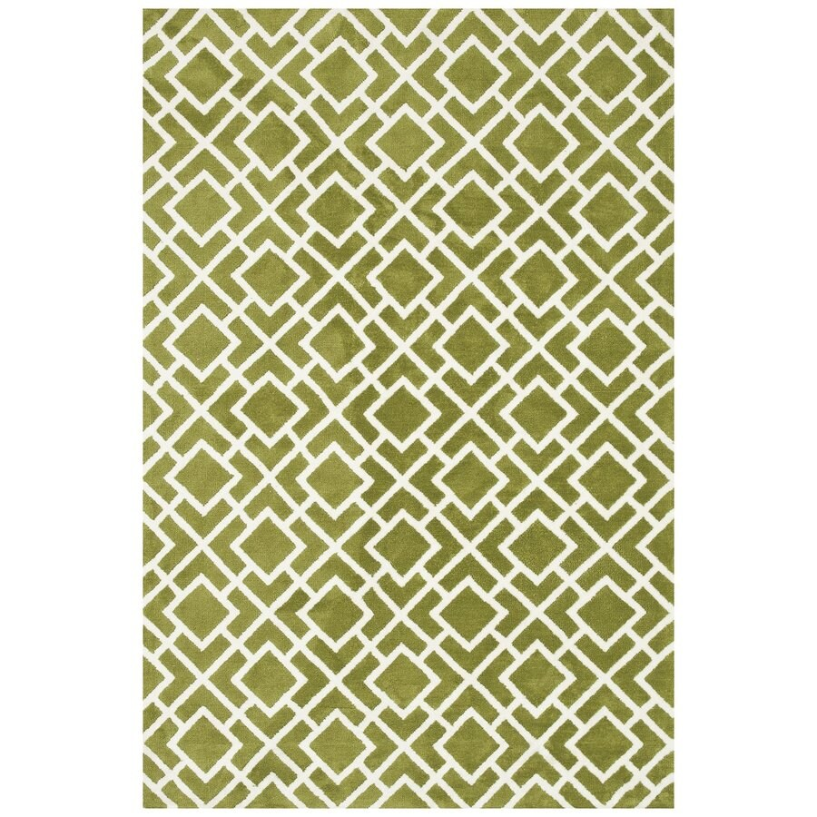 Loloi Charlotte Peridot Rectangular Indoor Machine-made Area Rug (Common: 5 X 7; Actual: 5-ft W x 7.5-ft L)