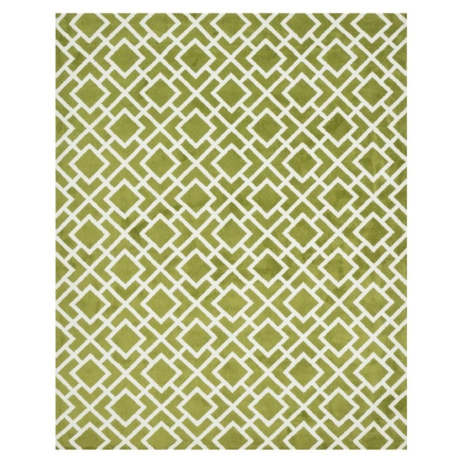 Loloi Charlotte Peridot Rectangular Indoor Machine-made Area Rug (Common: 7 X 9; Actual: 7.5-ft W x 9.5-ft L)