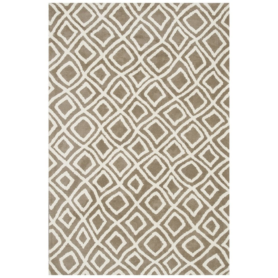 Loloi Charlotte Beige Rectangular Indoor Machine-made Throw Rug (Common: 2 X 4; Actual: 2.25-ft W x 3.75-ft L)
