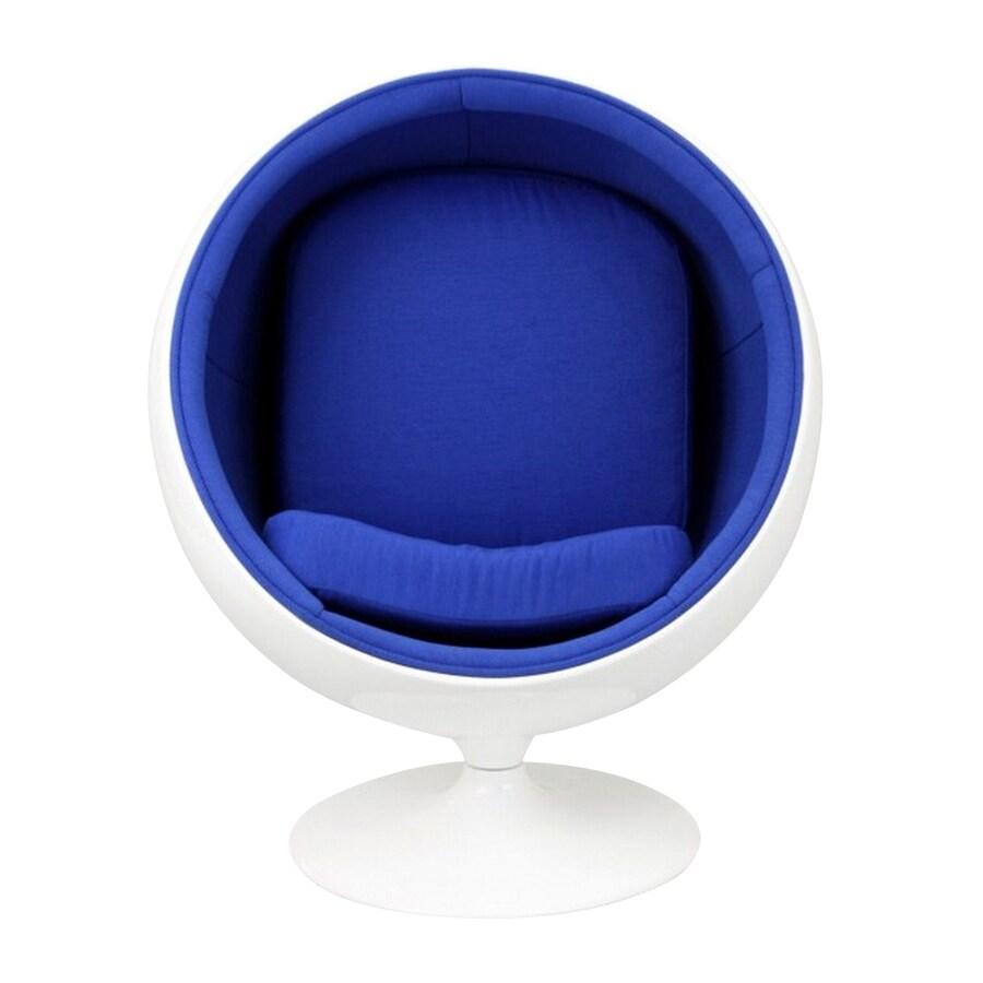 Modway Kaddur Modern Blue Accent Chair