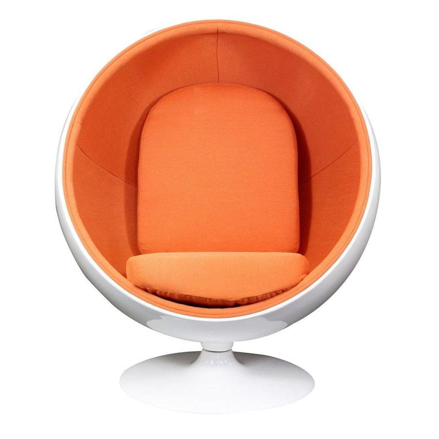 Modway Kaddur Modern Orange Accent Chair
