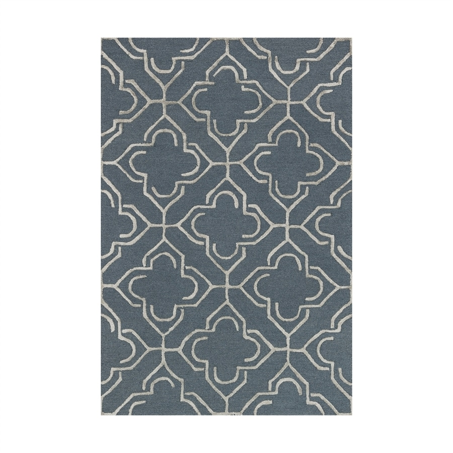 Loloi Panache Slate/taupe Rectangular Indoor Handcrafted Area Rug (Common: 7 X 9; Actual: 7.5-ft W x 9.5-ft L)