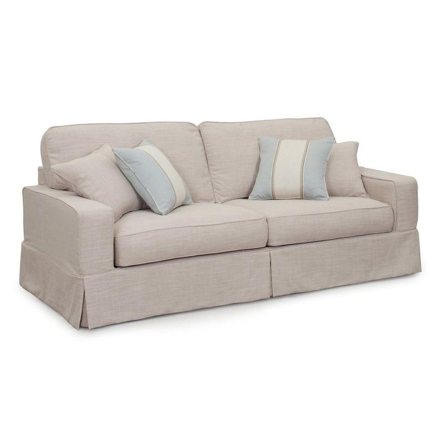 Sunset Trading Americana Casual Linen Sofa