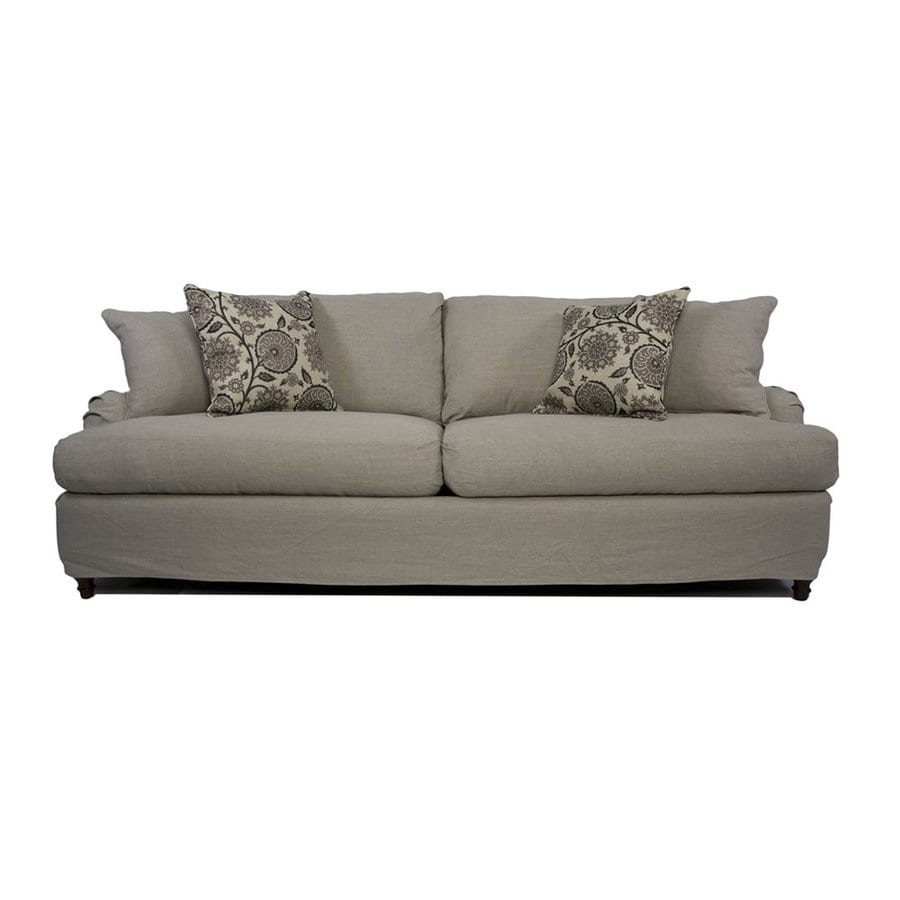 Sunset Trading Seacoast Casual Light Gray Sofa