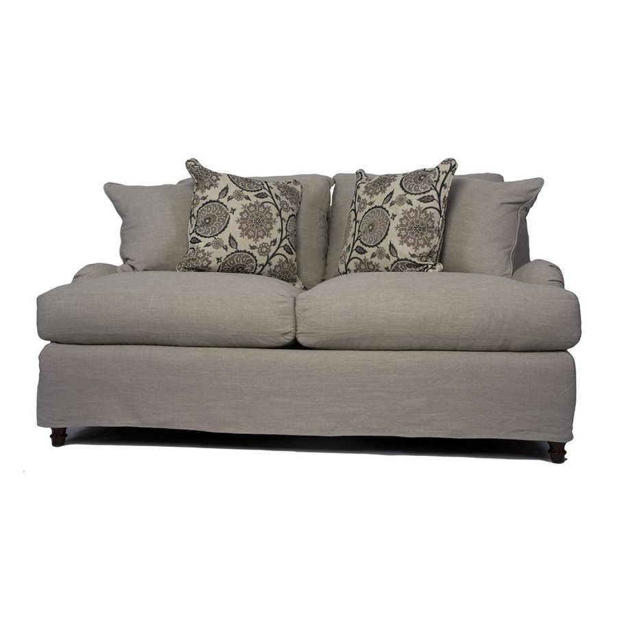 Sunset Trading Seacoast Casual Light Gray Loveseat