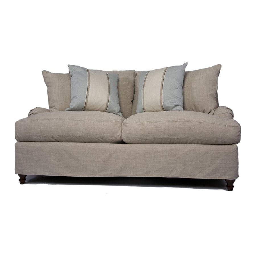 Sunset Trading Seacoast Casual Linen Loveseat