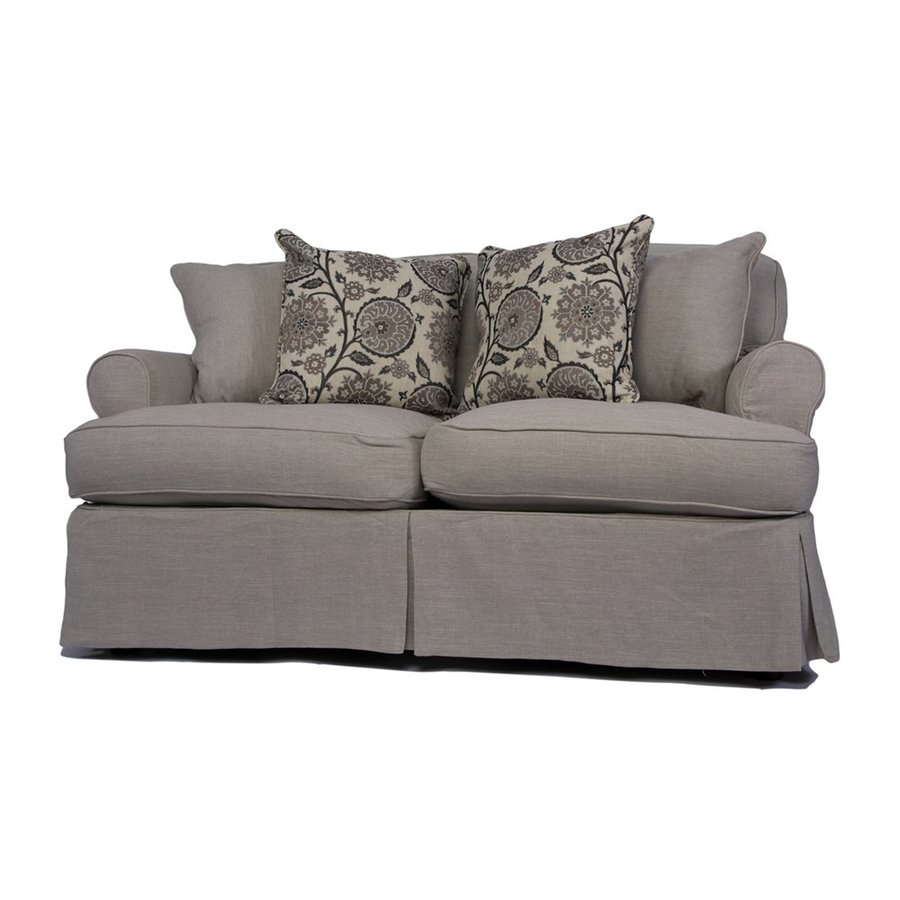 Sunset Trading Horizon Casual Light Gray Loveseat