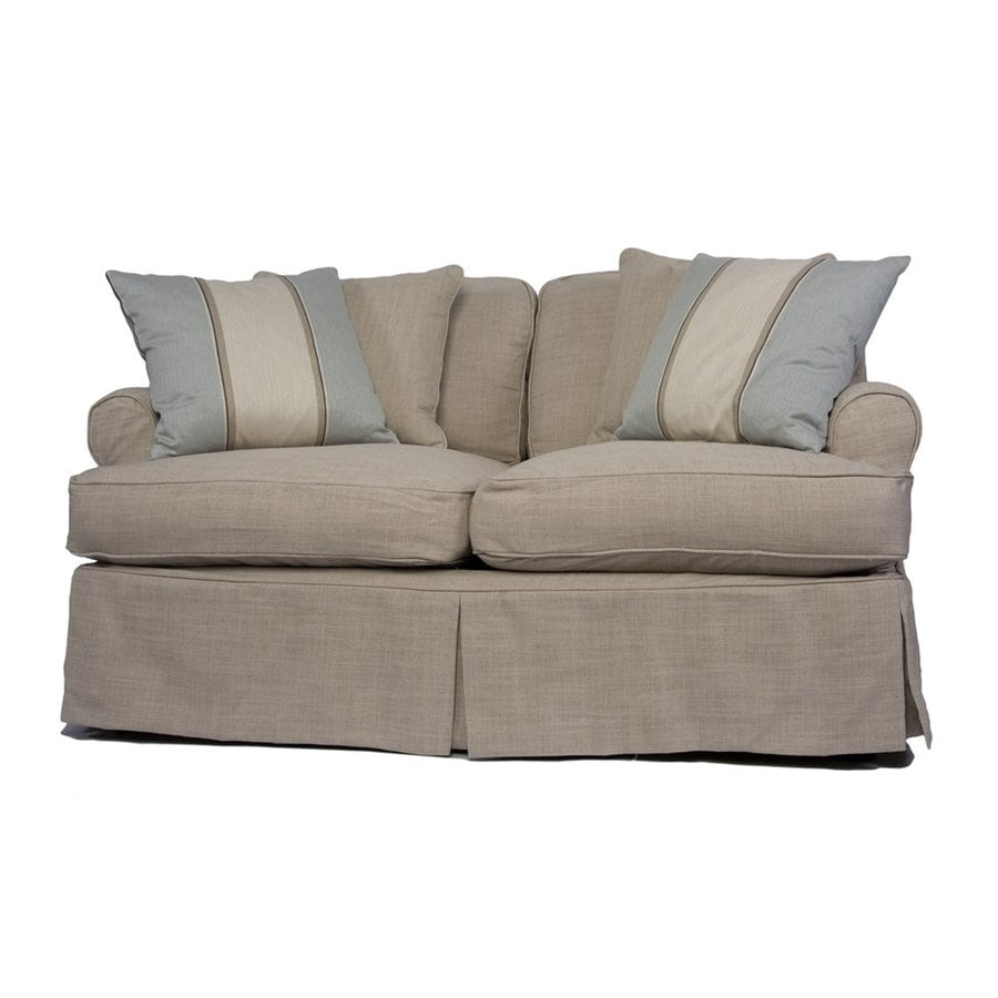 Sunset Trading Horizon Casual Linen Loveseat