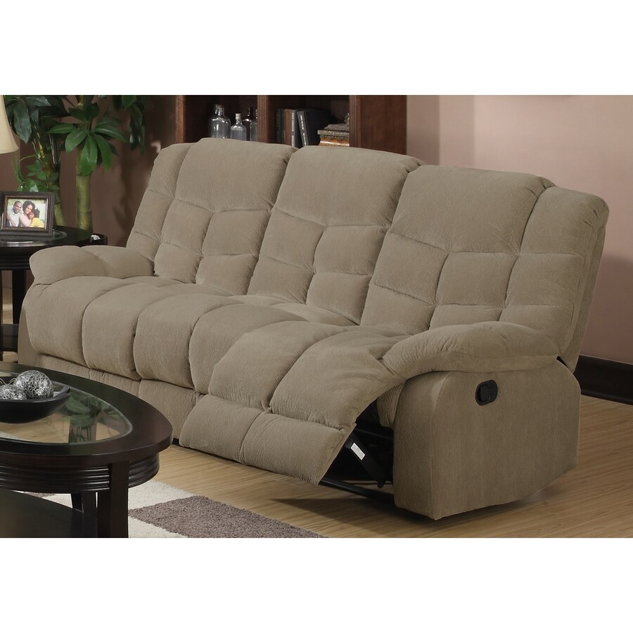 Sunset Trading Heaven on Earth Casual Tan Reclining Sofa