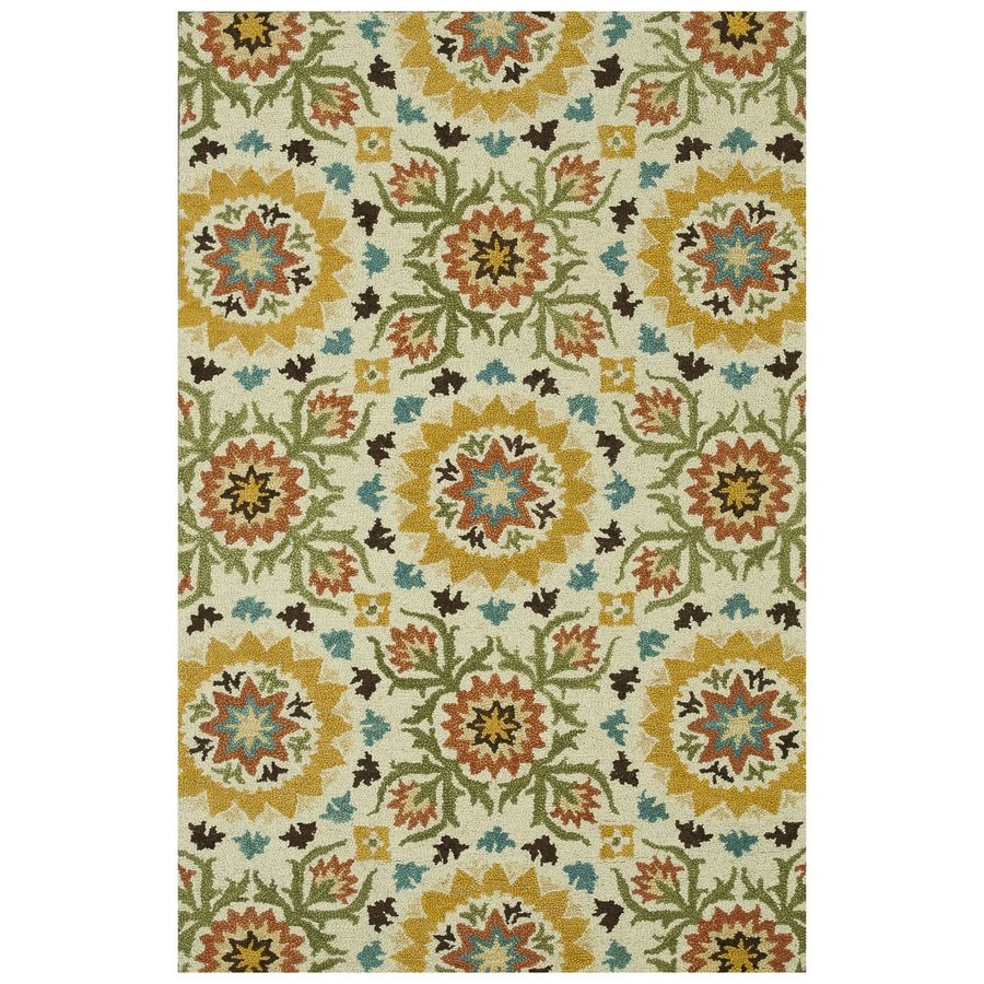 Loloi Taylor Green Rectangular Indoor Handcrafted Area Rug (Common: 9 X 13; Actual: 9.25-ft W x 13-ft L)