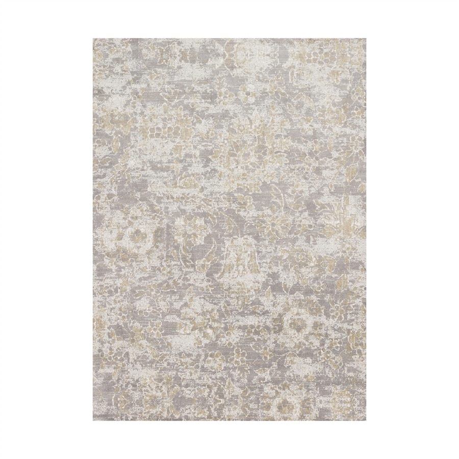 Loloi Torrance Slate Rectangular Indoor Machine-made Distressed Area Rug (Common: 7 X 10; Actual: 6.58-ft W x 9.16-ft L)