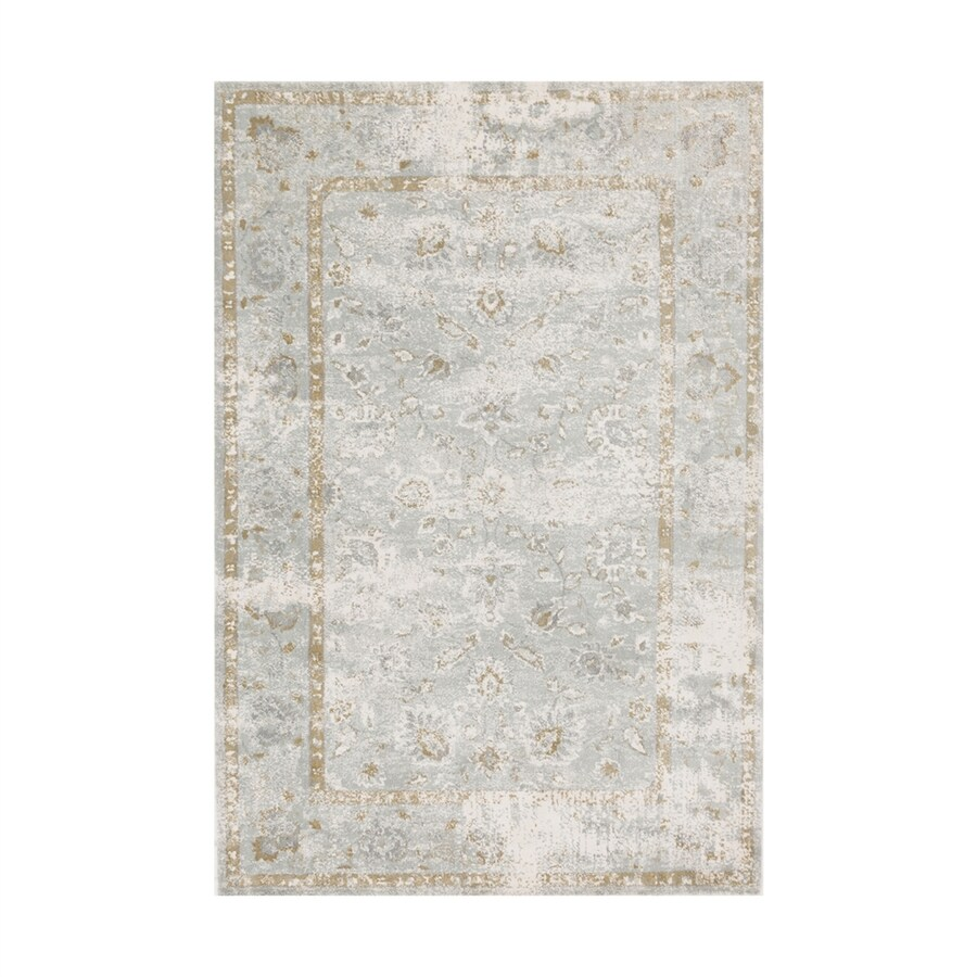 Loloi Torrance Sea Rectangular Indoor Machine-made Distressed Runner (Common: 3 X 10; Actual: 2.58-ft W x 10-ft L)