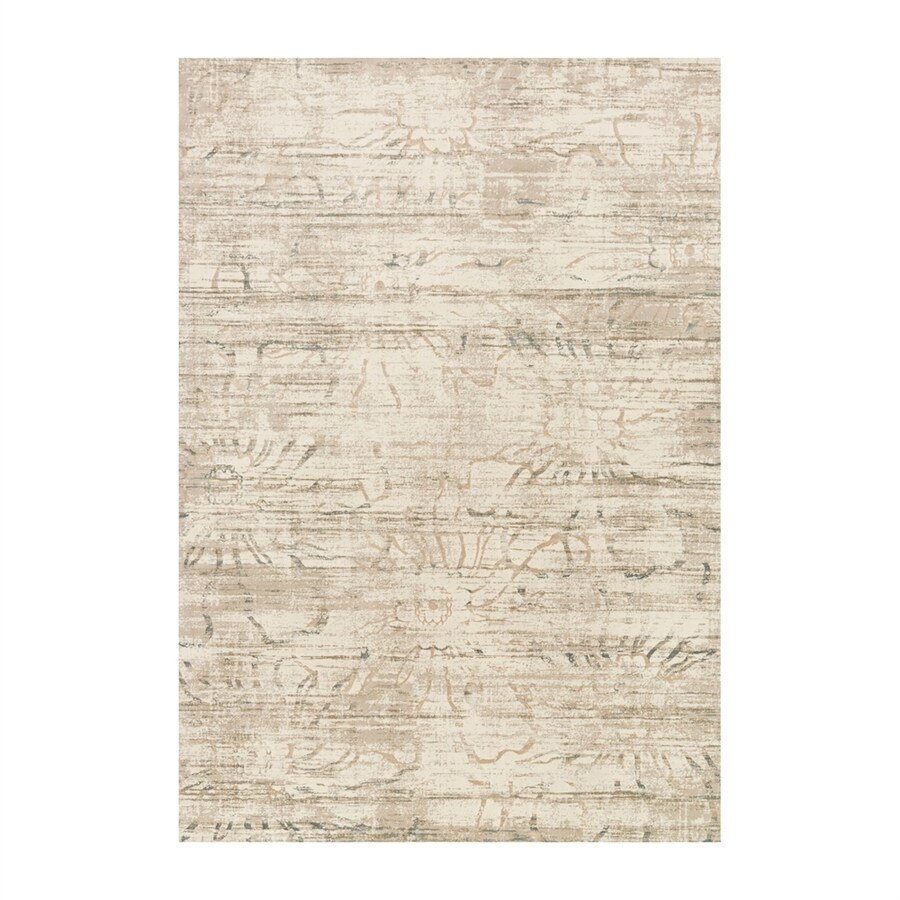 Loloi Kingston Neutral Rectangular Indoor Machine-made Distressed Area Rug (Common: 8 X 11; Actual: 7.83-ft W x 10.83-ft L)
